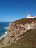 Cabo DA Roca, Sintra, Portugal. Imágenes de archivo libres de regalías
