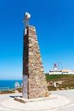Cabo da Roca Sintra, Portugalia (przylądek Roca) Obraz Royalty Free