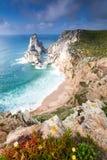 Cabo da Roca udde Royaltyfri Foto