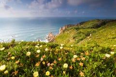 Cabo da Roca udde Fotografering för Bildbyråer