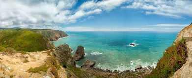 Cabo DA Roca (Umhang Roca), Portugal lizenzfreie stockfotografie