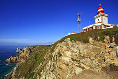 Cabo da Roca, West most point of Europe, Portugal. Stock Photography