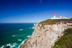 Cabo da Roca, West most point of Europe, Portugal Royalty Free Stock Photos