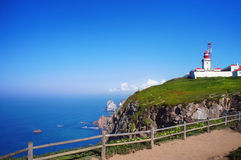 Cabo da Roca, West most point of Europe, Portugal Stock Photo