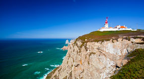 Cabo da Roca, West most point of Europe, Portugal Royalty Free Stock Photo