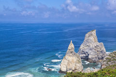 Cabo da roca, the western point. Of Europe Stock Image