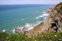 Cabo da Roca Stock Photo