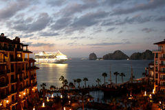 Cabo in Dawn Stock Foto