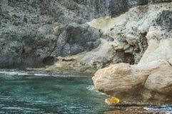 Cabo de加塔角自然公园在阿尔梅里雅,西班牙 免版税库存图片
