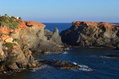 Cabo de帕洛斯, Andalusiya,西班牙 库存照片