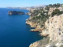 Cabo de Ла Nao Точка зрения Стоковые Фотографии RF