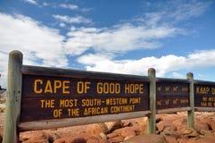Cabo de Buena Esperanza Imagen de archivo