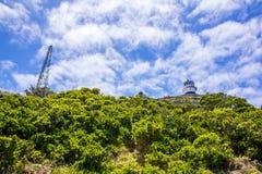 Cabo de Buena Esperanza el faro Fotos de archivo libres de regalías
