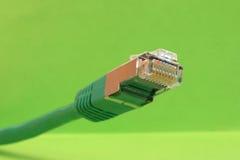 Cabo de Ethernet Imagens de Stock Royalty Free