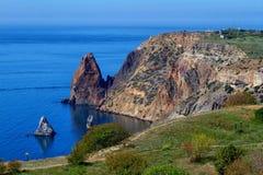 Cabo de Fiolent Foto de Stock Royalty Free