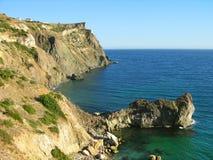 Cabo de Fiolent, Crimea, Ucrania fotos de archivo libres de regalías