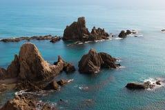 Cabo de Gata. Scenics at Cabo de Gata natural park, Almeria, Spain Stock Photos