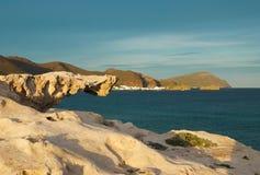 Cabo de Gata. Natural park, Almeria, Spain Stock Photography