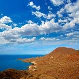 Cabo de Gata Almeria Poniente aerial view Spain Royalty Free Stock Photography