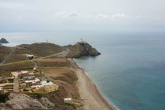 Cabo de Gata, Almeria, Spain Royalty Free Stock Photography