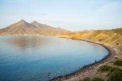 Cabo de Gata bay Stock Image
