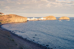 Cabo de Gata bay royalty free stock photos