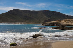 Cabo de Gata beach Stock Photography