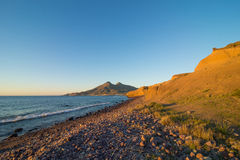 Cabo de Gata beach Royalty Free Stock Image