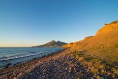 Cabo de Gata beach royalty free stock image