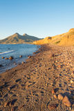 Cabo de Gata beach at sunrise Stock Photography
