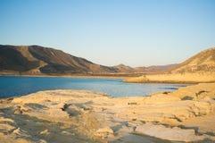 Cabo de Gata coast. Rocky Cabo de Gata coast at early morning sun Stock Photography