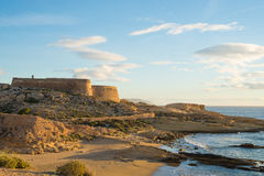 Cabo de Gata coast Royalty Free Stock Photos