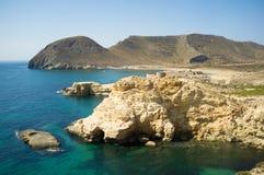 Cabo de Gata coastline Stock Photography