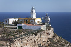 Cabo de Gata Lighthouse Stock Photography