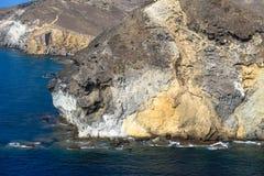 Cabo DE Gata-NÃjar Natuurreservaat in de zuidoostelijke hoek van Spanje Royalty-vrije Stock Fotografie