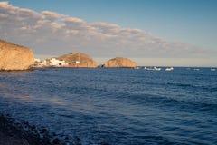 Cabo de Gata shore Stock Image