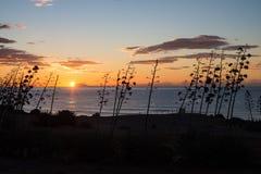 Cabo de Gata sunrise Royalty Free Stock Photos