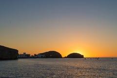 Cabo de Gata sunrise royalty free stock image