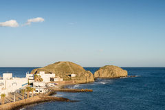 Cabo de Gata village Royalty Free Stock Images
