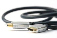 Cabo de HDMI Imagens de Stock Royalty Free