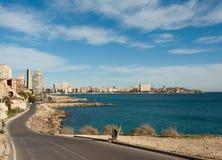 Cabo de Huertas, Alicante Fotos de archivo libres de regalías
