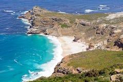 Cabo de la buena bahía de la Esperanza-Playa foto de archivo