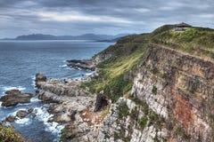Cabo de Longdong en Jiufen Taiwán fotos de archivo libres de regalías