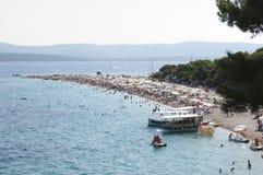 Cabo de oro, Croacia Imágenes de archivo libres de regalías