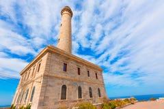 Cabo de Palos lighthouse near Mar Menor Spain Royalty Free Stock Image