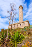 Cabo de Palos lighthouse near Mar Menor Spain Stock Photos
