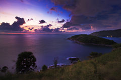 Cabo de Phromthep Fotografia de Stock Royalty Free