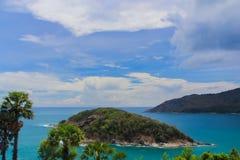 Cabo de Phromthep em Phuket Fotografia de Stock Royalty Free