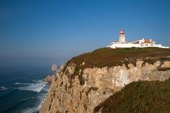cabo de Portugal roca Obraz Stock