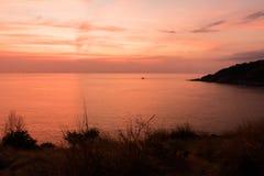 Cabo de Promthep Imagen de archivo libre de regalías